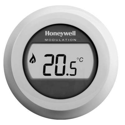 Honeywell Round Modulation kamerthermostaat Opentherm T87M2018