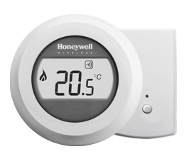 Honeywell Round Wireless Modulation kamerthermostaat Opentherm Y87RF2008