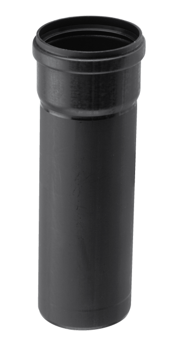 Burgerhout BM-AIR Luchttoevoerpijp 80mm mof x spie l=250mm PP zwart