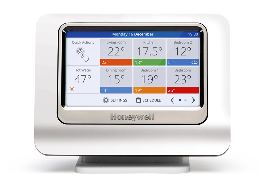 Honeywell evohome bedieningsinterface - Alleen interface