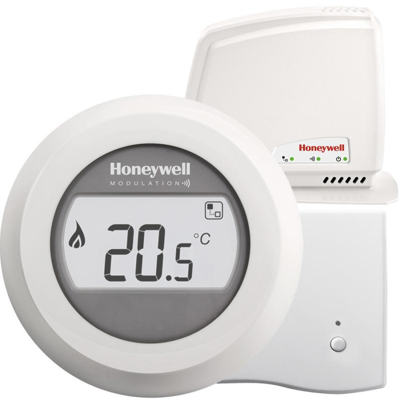 Honeywell Round Connected Wireless On/Off kamerthermostaat Aan/uit Y87RFC2032