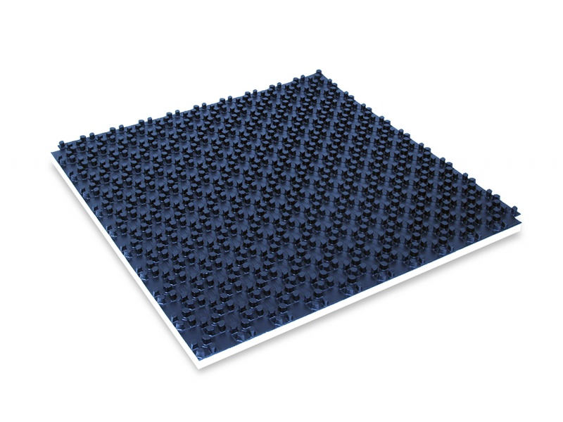 Comfort Noppenplaat met isolatie buis 12-17mm lengte 1000mm diepte 11mm breedte1000mm