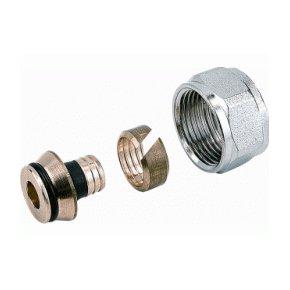 VTE koppeling euroconus 16x2mm alupex 1000360