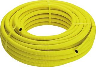 Viega Meerlagenbuis 20mm op rol 50 meter PE-Xc geel Pexfit Fosta gas 20 x 2,3mm 10 bar 95 graden