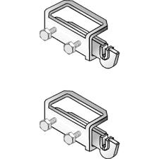 Rofix Set voor paneelradiator type 10/11/20/21 tbv aangelaste strippen 102907