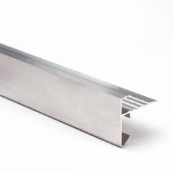 Nebiprofa Roval dakrandprofiel aluminium 60x45mm lengte=2.5m