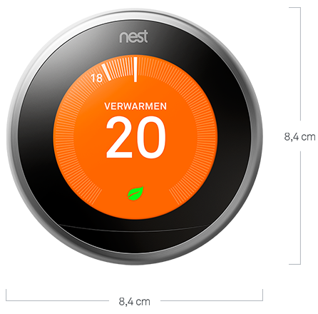 Google Nest slimme thermostaat zelflerend