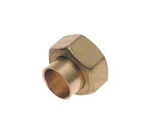 Bonfix koppeling messing 2-delig bi.dr. x capillair 1/2bix15mm kiwa 00270