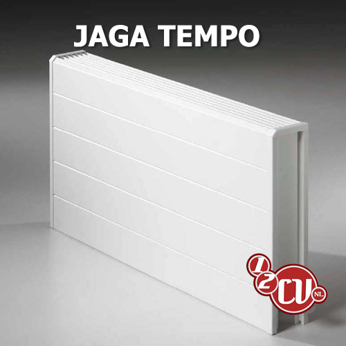 Jaga Tempo Wandradiator type 10 200x2400mm 1571W wit TEMW02024010101