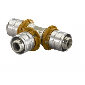 Uponor Pers T-stuk 16x16x16 mm  1014918