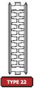type 22 radiator